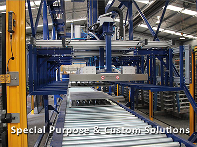 Special Purpose Equipment. Customised materials handling solutions.