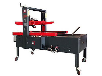 P15F Single Format Carton Taping machine with semiauto carton forming