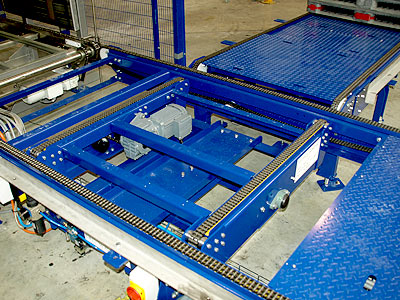 Pallet Handling Conveyors Palletising Wrappers